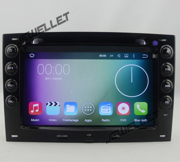 Octa core IPS screen Android 9.0 Car <font><b>DVD</b></font> <font><b>GPS</b></font> radio Navigation for Renault <font><b>Megane</b></font> II (03-08) with 4G/Wifi, DVR OBD 1080P image
