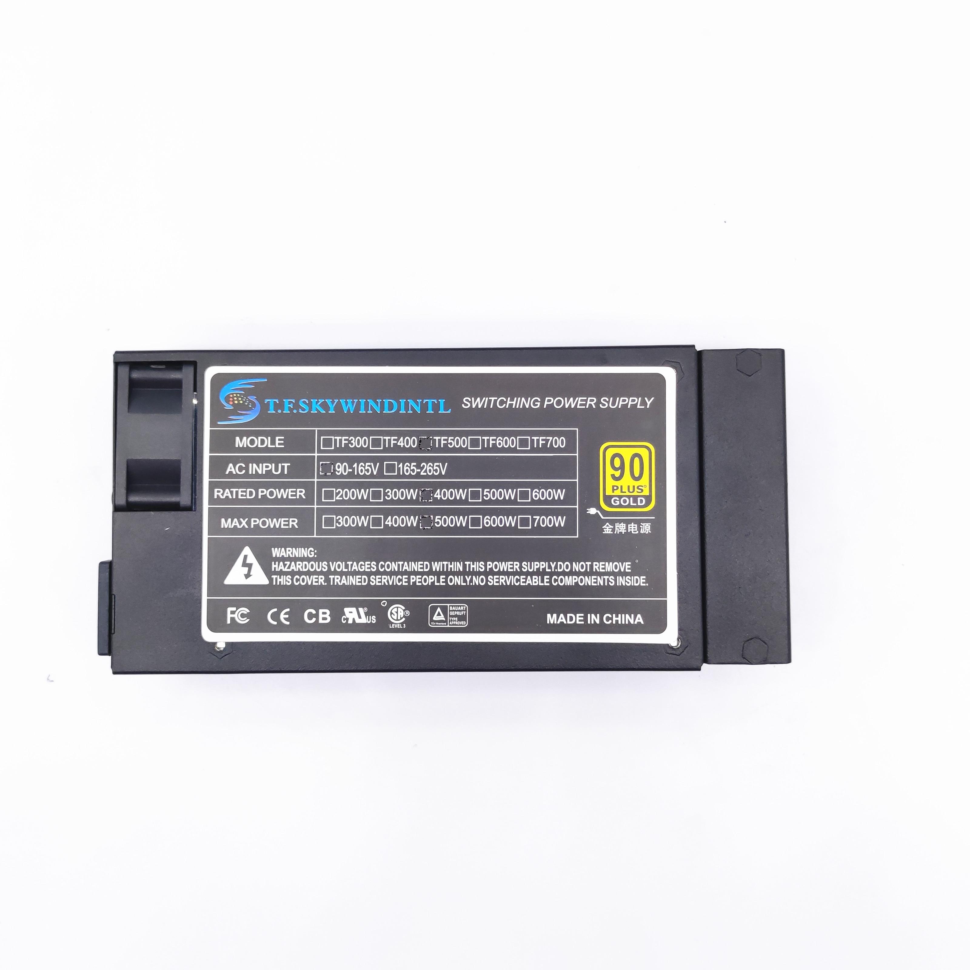 Гибкий блок питания 400 Вт PSU Active PFC 400 Вт ATX Flex, полный модульный блок питания для системы пос AIO, маленький блок питания для компьютера 1U (Flex ITX)