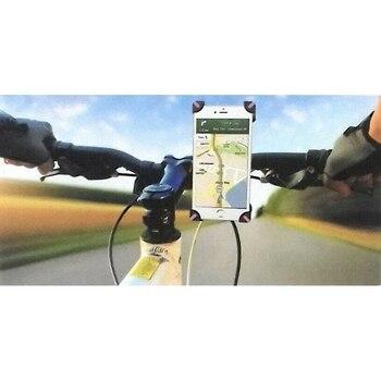 Soporte para Móvil Bici Sujeto con Abrazadera al Manillar de la Bicicleta...