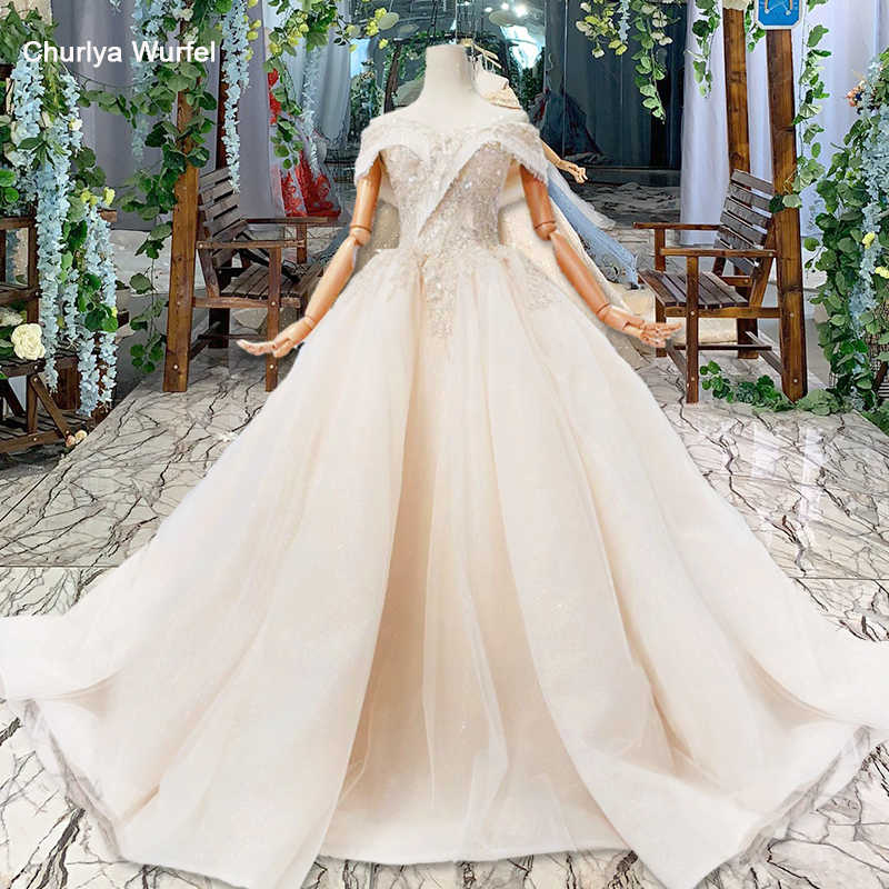HTL605 wedding dresses ball gown in Wedding&Events off shoulder sweetheart bridal vintage wedding gown 2019 porte nom mariage