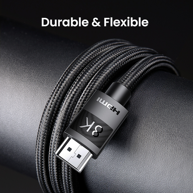 Ugreen HDMI 2.1 Cable Ultra High-speed 8K/60Hz 4K/120Hz for Xiaomi Mi Box PS5 HDMI Splitter Cable HDMI Dolby Vision 48Gbps HDMI 6