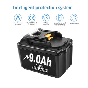 Image 4 - Bonacell 18V 9000mAh BL1830 Lithium Battery Pack Replacement for Makita Drill LXT400 194205 3 194309 1 BL1815 BL1840 BL1850 L30