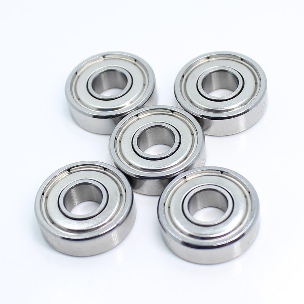 10 PCS 6x19x6 mm 626ZZ Metal Double Shielded Ball Bearing Bearings 6*19*6