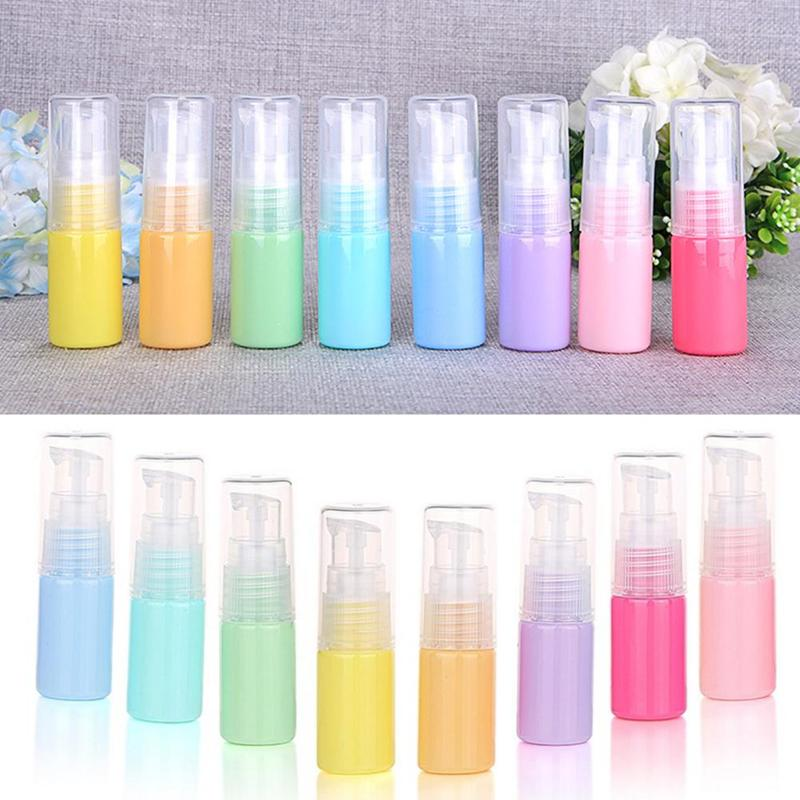 10ml Plastic Refillable Lotion Bottles Traveler Packing Press Bottle For Lotion Shampoo Bath Container Portable Travel Bottle