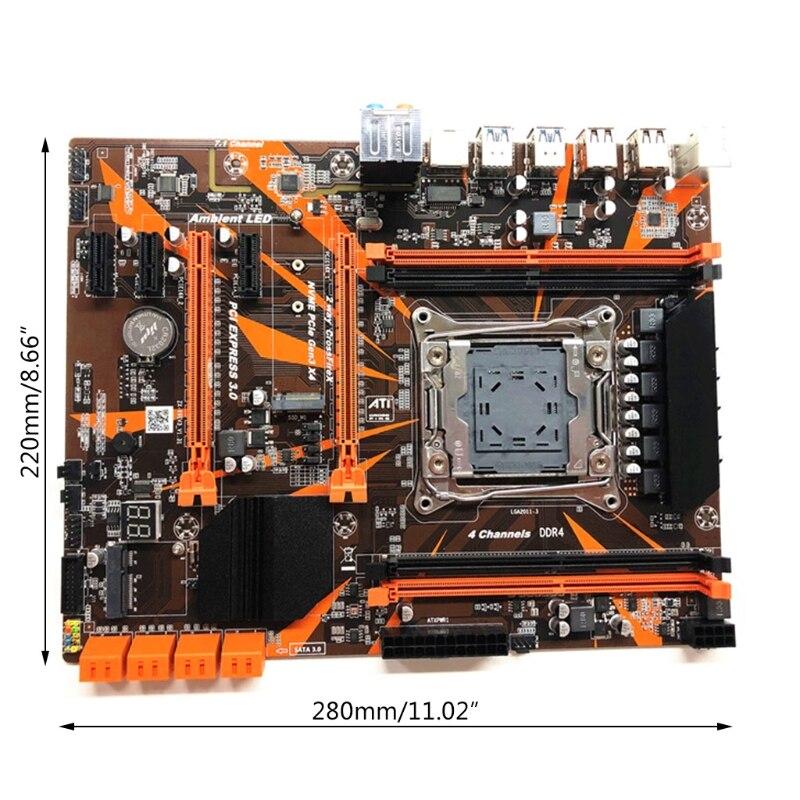 Купить x99 материнская плата lga2011 v3 профессиональный 4 канальный