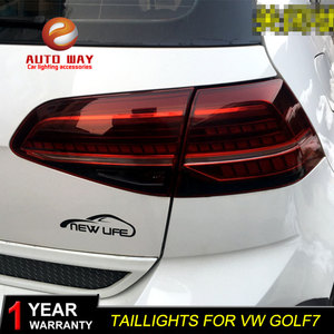 Image 5 - Car Styling for VW Golf 7 MK7 Golf7 Golf7.5 MK7.5 taillights TAIL Lights LED Tail Light LED Rear Lamp taillight Automobile