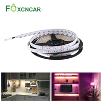 Led Light Strip 12V Keuken Onder Kast Led Verlichting Bajada De Cama 5050SMD Rgb Lint Tape Plafond Strip Boekenplank night Lamp