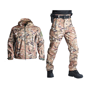 Spring Military Soft Shell Men