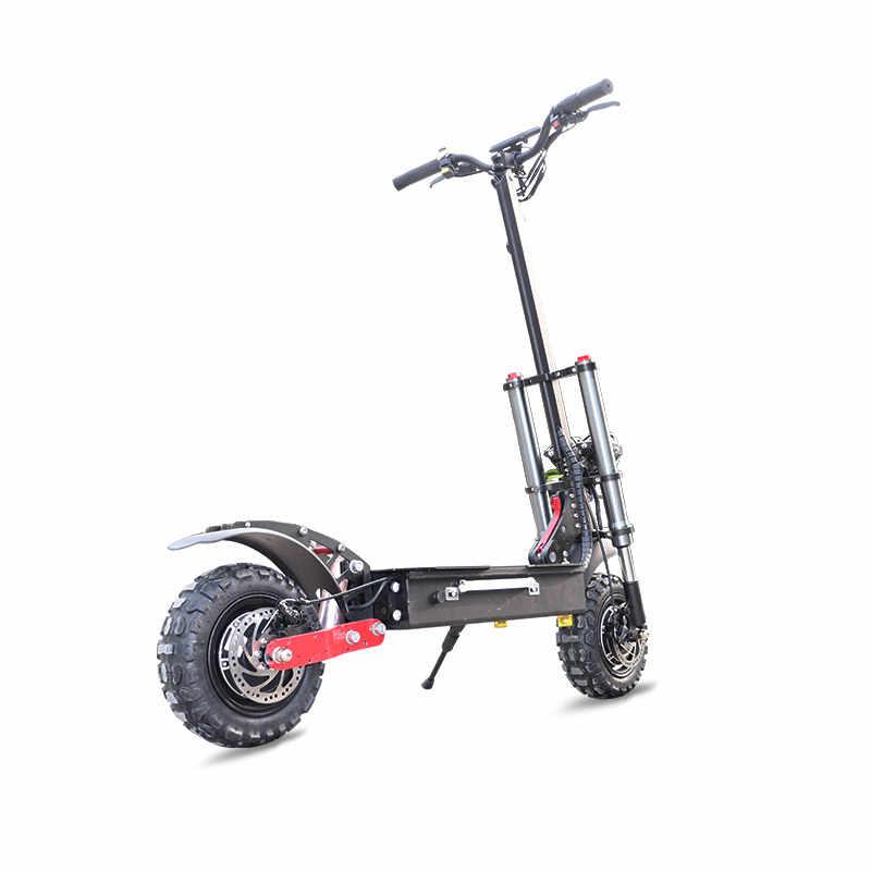 2600W למבוגרים קורקינט חשמלי עם מושב מתקפל hoverboard סוללה 11 אינץ שומן צמיג חשמלי אופנוע kick קטנוע דואר קטנוע