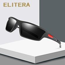 ELITERA Design Männer Polarisierte Outdoor Sports Sonnenbrille Männliche Brille Gläser Für Angeln UV400 Schutz