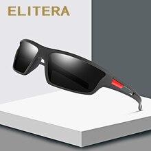 Мужские спортивные солнцезащитные очки ELITERA, поляризационные очки для рыбалки, степень защиты UV400