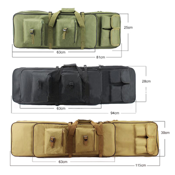 Tactical Gun Bag Military Equipment Shooting Hunting Bag 81/94/115CM Outdoor Airsoft Rifle Case Gun Carry Protection Backpack 2