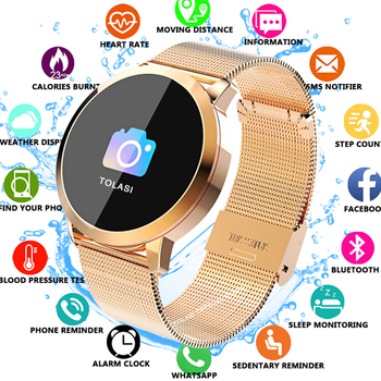 Q8 Fitness Tracker Women Smart Watch Men Smartwatch IP67 Waterproof Bracelet Heart Rate Monitor Sport Wristband For Android IOS heart rate monitor smart wrist for men women anti lost reminder smart watch for ios android shake photograph smart bracelet
