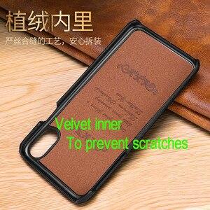 Image 3 - Chính Hãng Cho iPhone 11 Pro Max XS Max XR iPhone 6 6S 7 8 Plus 11Pro SE 2020 Ốp Lưng Litchi Cao Cấp Điện Thoại Ốp Lưng