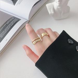 Image 5 - Женское кольцо из серебра 925 пробы, с изменяемым размером