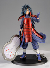 17cm anime figura brinquedos naruto shippuden uchiha madara pvc figura de ação brinquedos coleção modelo boneca presente