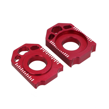 Motocykl CNC oś blok tylny regulator łańcucha dla HONDA CRF250L CRF250M 2012-2018 CRF250R sojusznikiem 2017-2018 CRF 250 L M R tanie i dobre opinie CAKEN C201909241609 Felgi Axle Block