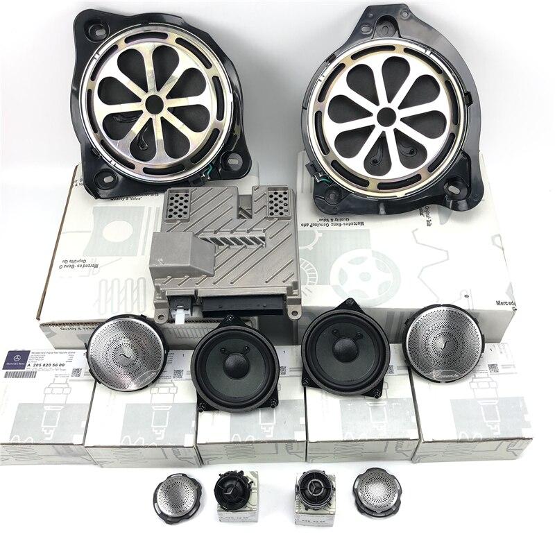 Altavoz de subgraves para coche para Benz C W205 GLC X253 E W213 de alta calidad de la serie tweeter cuerno bajo audio de gama media altavoz refit
