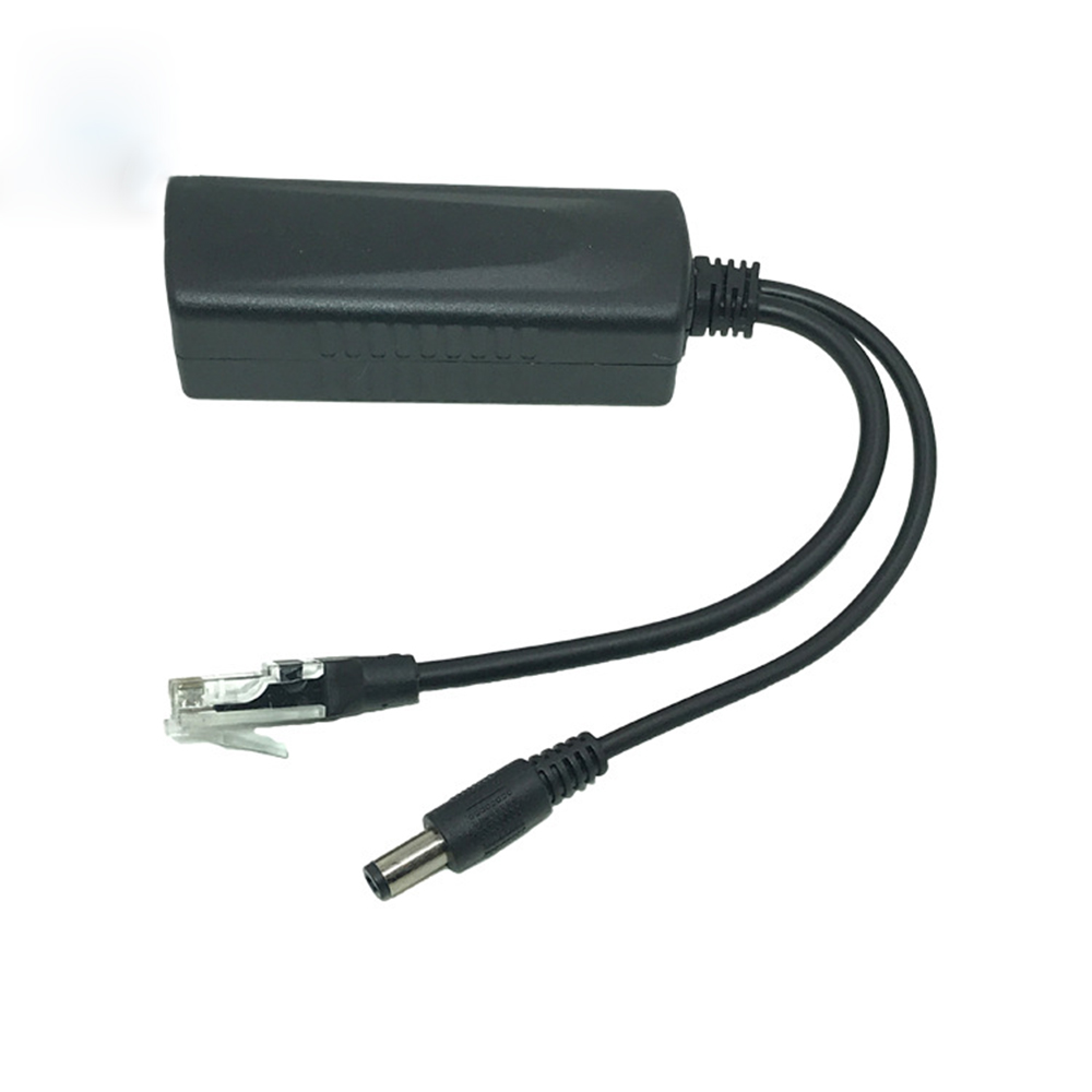 48V Separator PoE Splitter  IEEE 802.3AF/TF Network Centralized Power Supply Network Monitoring Transmitter GB  Cables