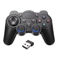 2.4G Wireless Handle Gamepad For Android Phone/PC Computer/PS3/TV Box Smart Phone Remote GamePad Controller With OTG Converter