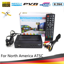Vmade 2020 New ATSC F01S Hot Selling North America ATSC T Digital TV Tuner Terrestrial Receiver Support HD 1080P Audio Youtube