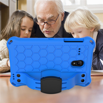 Coque For Samsung Galaxy Tab A Case 8.0 inch 2017 Shockproof Kids Stand Cover For Samsung Tab A 8.0 T380 T385 Tablet Cover Cases cover case for samsung galaxy tab a 8 0 sm t380 t385 2017 folio stand cover case for samsung galaxy tab a2 s sm t380 t385 gift