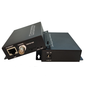 Ethernet POE camera Extender coaxial cable to RJ45 port IP Extender CCTV Poe camera coaxial converter Ethernet coaxial Extender