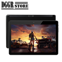 Super Tempered 2.5D Glass Screen Tablet 10 inch IPS Android Tablet Dual Cameras Dual SIM tablet Free Shipping
