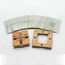 2021 90MM universal rotary type reballing jig GA Reballing Station BGA Reball Kit Magnetism Lock Universal Bga Stencil BGA