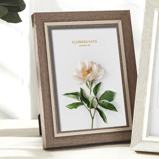 Beautiful Nordic Picture Frame Color: D Size: 6 inch