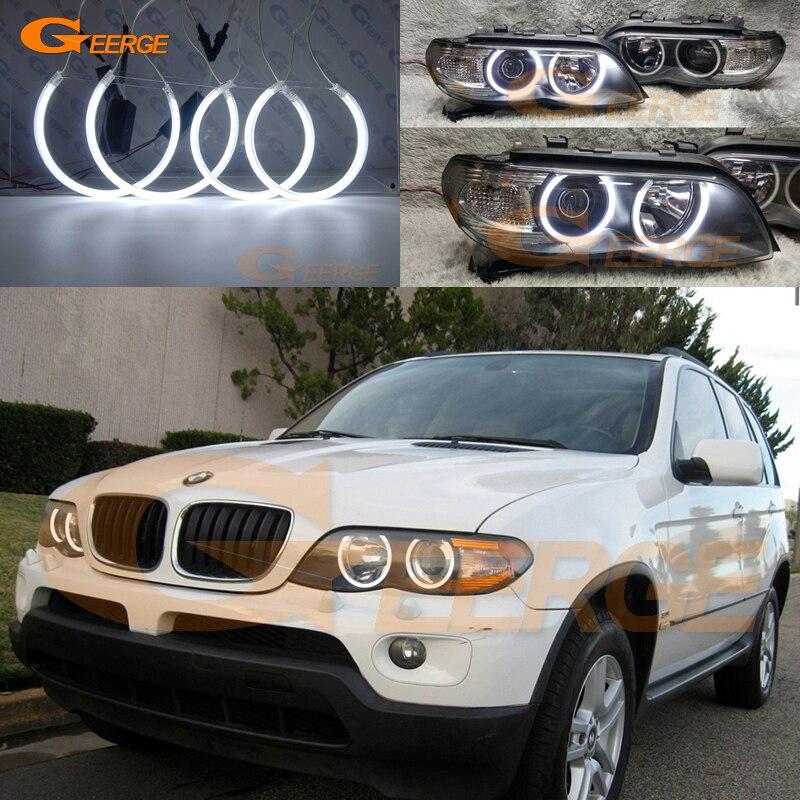 Front LEFT BLACK GLOSS BMW X5 E53 2000-2006 Outside Door Handle 51218257737