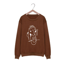 BTS V Brown Sweatshirt