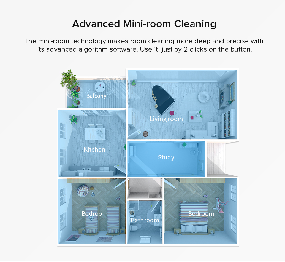 H1f90ee49c9bb4b9ea88570fdea2a96f91 ILIFE A4s Robot Vacuum Cleaner Powerful Suction for Thin Carpet & Hard Floor Large Dustbin Miniroom Function Automatic Recharge