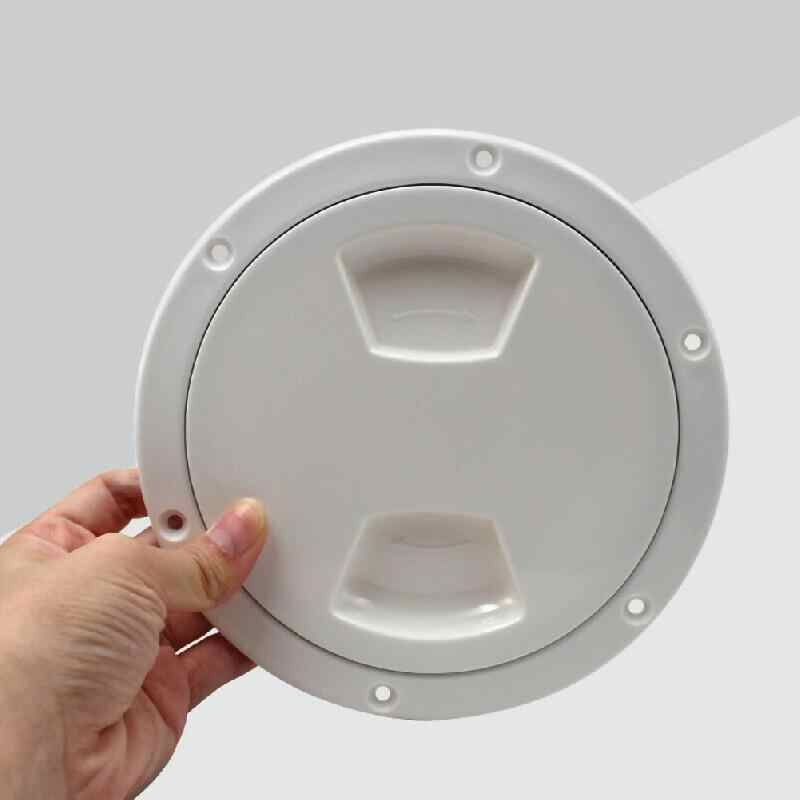 LN/_ 4//6//8 Inch Round Hatch Cover Non-Slip Deck Plate for Marine Boat Kayak Can