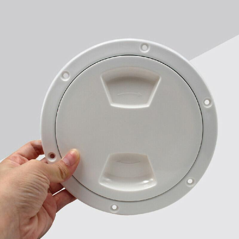 Marine Boat Round Non Slip Yacht Inspection Hatch with Detachable Cover 1 Pc