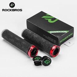 ROCKBROS gumy MTB rowerowe uchwyty antypoślizgowe chwyty kierownicy rowerze TPE miękka  odporna na wstrząsy uchwyty rowerowe Bar miękkie taśma rowerowa taśma akcesoria