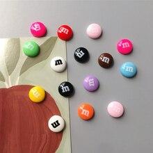Красочные магниты для холодильника, милые сувенирные подарки, декор для домашнего холодильника, магнитные наклейки, канцелярские игрушки