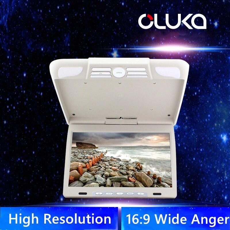 14,1 дюймов бизнес автомобильный держатель на крышу вращающийся монитор откидной экран OSD язык ЖК TFT цифровой широкий экран мониторы - 2