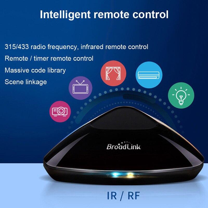 Broadlink Original RM Pro WiFi+IR+RF+4G APP Remote Control Work For Alexa Google Home RF 433MHz Wireless Smart Home Automation