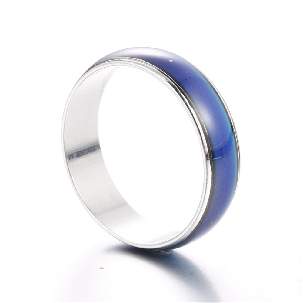 Classic Temperature Change Color Mood Ring Hot Sale Jewelry Smart Discolor Rings Best Gift For Friends Free Shipping 1
