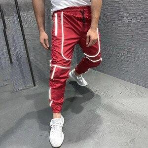 Image 5 - GYMOHYEAH Herbst NEUE Streetwear Fitness Hosen Männer Hip Hop Jogginghose Mens Casual Jogger Unisex Harajuku Jogger Jogginghose