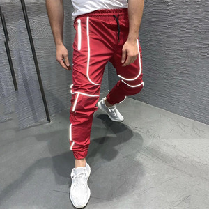 Image 5 - GYMOHYEAH الخريف جديد الشارع الشهير سراويل رياضية الرجال الهيب هوب Sweatpants رجل عارضة ركض للجنسين المتناثرة ركض Sweatpants