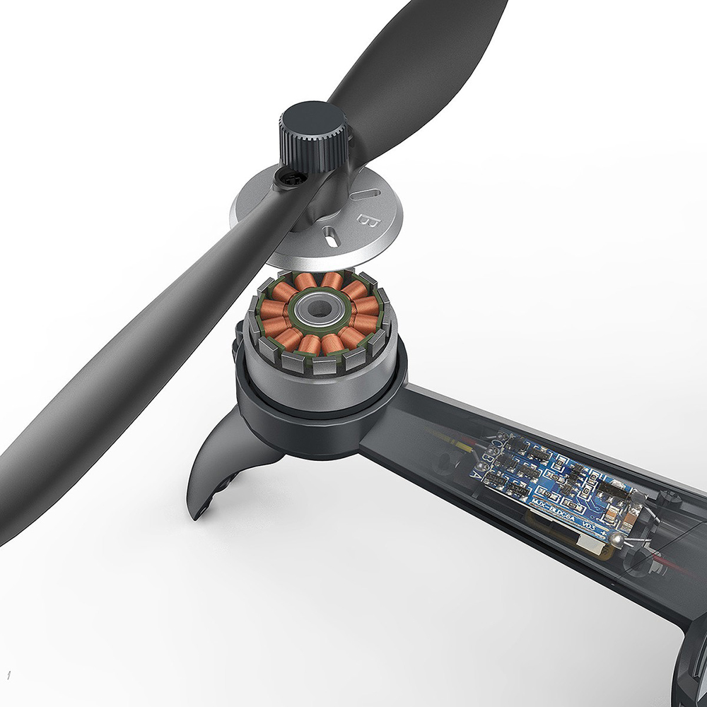 MJX B5W Drone GPS sans brosse 5G RC quadrirotor amélioré 4K Wifi dron FPV caméra HD retour automatique 20min Drones temps de vol jouets - 5
