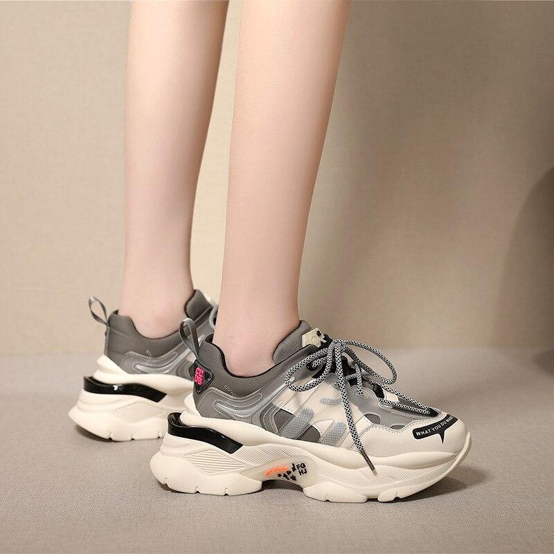 Women Trendy Dad Chunky Sneakers 9