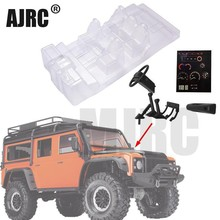 Simulation Transparent Interior Trim For Trx4 Defender TRAXXAS TRX 4 Trx4 82056 4 Cockpit Seat Dash Board Steering Wheel  (1kit)