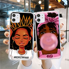 Melanin Poppin Queen phone Case For Samsung