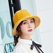 Autumn Winter Corduroy Fisherman Hat men and women street travel hat Bucket caps Women Hats