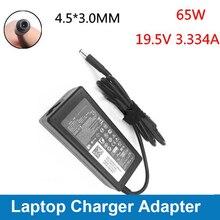 Basix adaptador de corriente alterna para portátil, cargador de energía 65W, 19,5 V, 3,34a, cargador de fuente de alimentación para Dell Inspiron 15, 5558, 3558, 3551, 3552, 5551