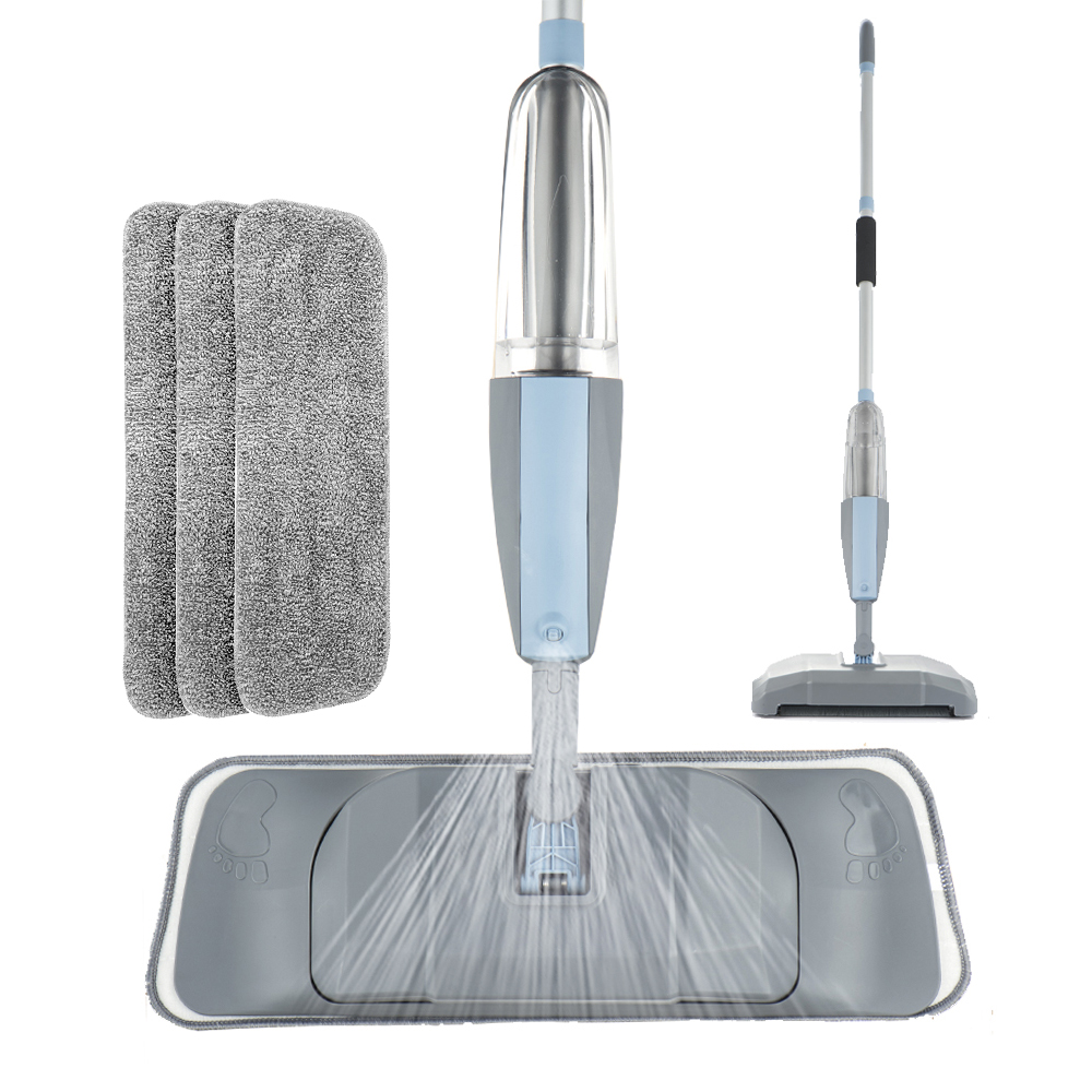 Mop 3 в 1 спрей швабра и уборочная машина пылесос с жестким полом плоский набор инструментов для уборки для Хо Применение держать ручной-удобн...