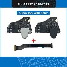 "Nieuwe A1932 Audio Jack Flex Kabel 820 01124 A 820 01124 04 821 01528 A Voor Macbook Air Retina 13 ""A1932 hoofdtelefoon Jack MRE82"